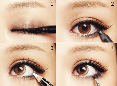 Học cách trang điểm mắt 1 mí thành 2 mí chỉ sau 5 phút đồng hồ