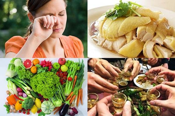 Chế độ ăn kiêng và chăm sóc sau khi thẩm mỹ mắt như thế nào là tốt nhất? 2