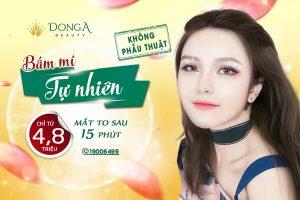 Bấm mí Hàn Quốc Dr Park – Tạo điểm nhấn cho đôi mắt to tròn