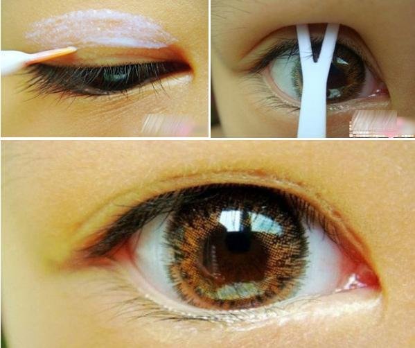 Bật mí cách giữ nếp mí mắt cân đối và đều vào mỗi sáng 4