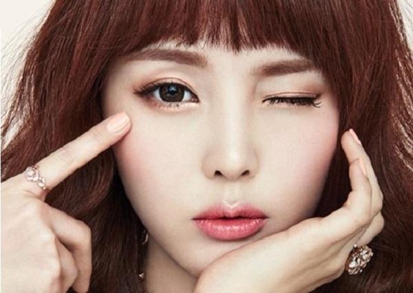 bấm mí mắt Hàn Quốc cần kiêng gì