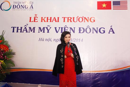 Toàn cảnh lễ khai trương Thẩm mỹ viện Đông Á 8