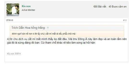 Chuyên gia giải đáp: Bác sĩ nào cắt mí tại TMV Đông Á và có tốt không? 1