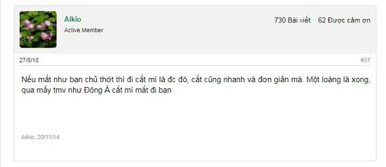 Chuyên gia giải đáp: Bác sĩ nào cắt mí tại TMV Đông Á và có tốt không? 2