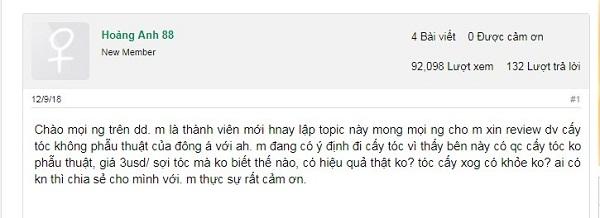 Review chân thực thẩm mỹ viện Đông Á Hồ Chí Minh có tốt hay không?